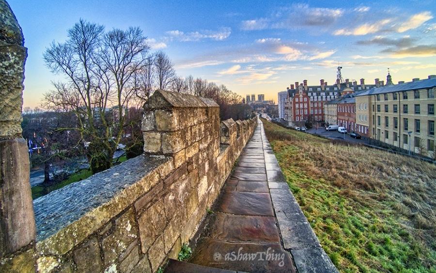 Sunrise on the York Wall