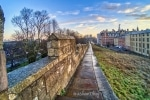 Sunrise on the York Wall