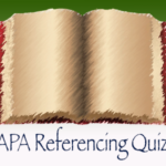 APA Referencing Quiz