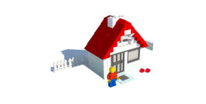 Figure 2: Lego house and bricks