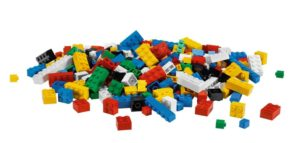 Figure 1: A pile of lego bricks.