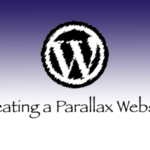Creating a Parallax Website on WordPress.