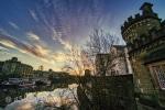 Sunrise over the river Ouse I
