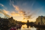 Sunrise over the river Ouse I